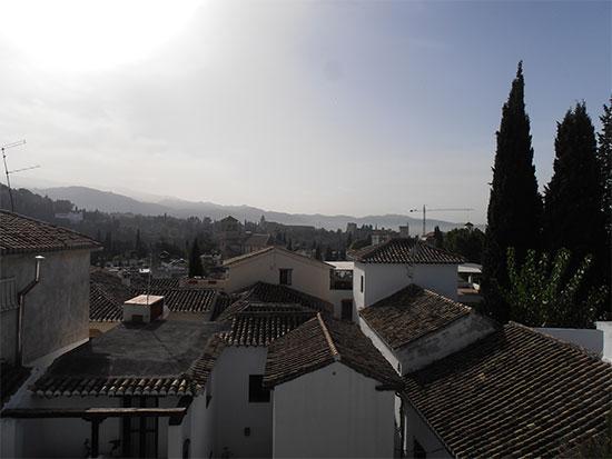 Bonito Carmen en venta en el histórico barrio el Albaicín en Granada.